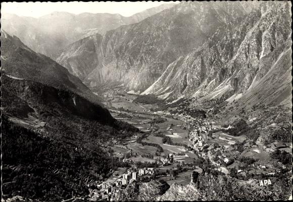 Ak Escaldes Engordany Andorra, Vista panoramic, Landschaftsblick