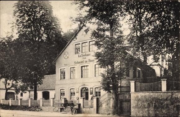 Ak Osnabrück in Niedersachsen, Kaffeehaus zum Schmied im Hone, Inh. H. Sandmann