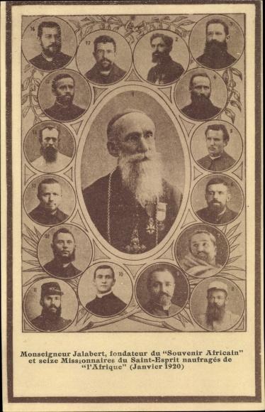 Ak Monseigneur Jalabert, fondateur du Souvenir Africain, Missionaires du Saint Esprit, Missionare