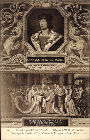 Künstler Ak Charles VIII., Karl VIII., König von Frankreich, Musée de Versailles