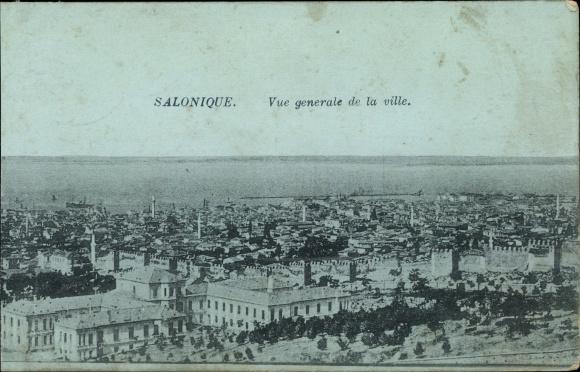 Ak Thessaloniki Griechenland, Vue generale de la Ville