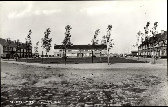 Ak Voorschoten Südholland Niederlande, Franz Lisztlaan, Wohnhäuser
