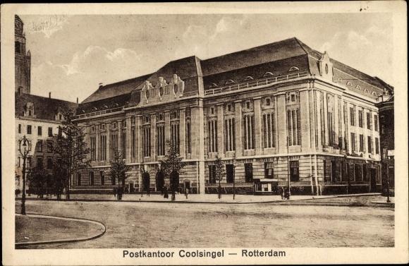 Ak Rotterdam Südholland Niederlande, Postkantoor Coolsingel