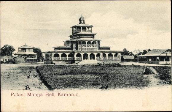 Ak Kamerun, Palast Manga Bell