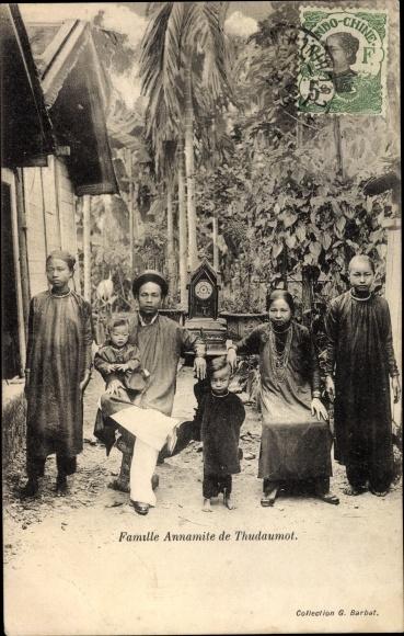 Ak Thudaumot Vietnam, Famille Annamite de Thudaumot