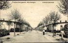 Ak Poznań Posen, Truppenübungsplatz Warthelager, Infanteriestraße