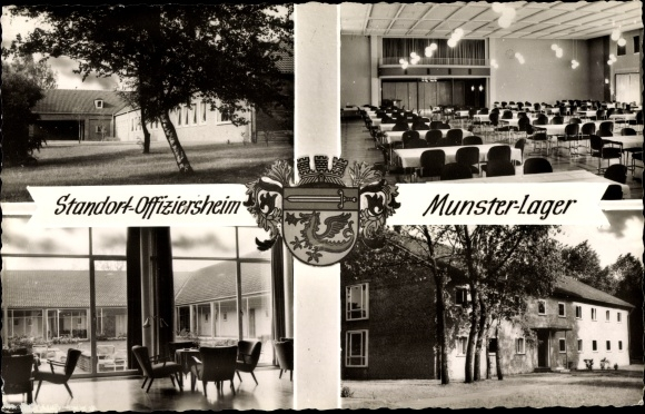 Ak Munster an der Örtze, Munsterlager, Standort Offiziersheim