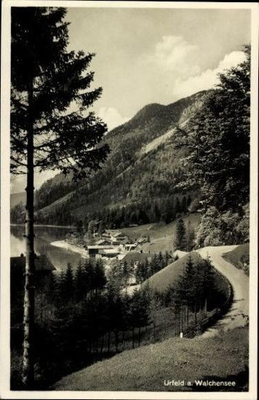 10 alte Ak Kochel am See in Oberbayern, diverse Ansichten