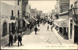 Ak Sfax Tunesien, Rue de la République, La Dépèche Sfaxienne