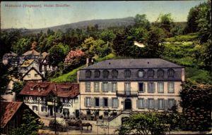 Ak Le Hohwald Vogesen Bas Rhin, Hotel Stauffer und Umgebung