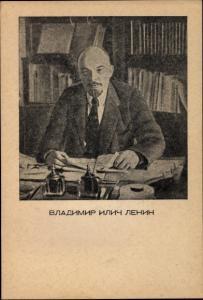 Ak Wladimir Iljitsch Lenin, Sowjetunion, Kommunismus, Portrait