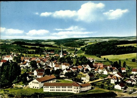 Ak Much in Nordrhein Westfalen, Blick auf den Ort