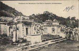 Ak Châu Dôc Vietnam, Tombeau du Mandarin Vin Thé