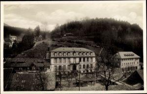 Ak Le Hohwald Elsass Bas Rhin, Hotel Stauffer und Umgebung