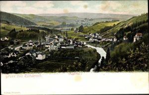 Ak Ründeroth Engelskirchen im Oberbergischen Kreis, Panorama, Aggertal