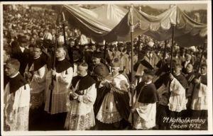 Foto Ak Essen im Ruhrgebiet, 71. Katholikentag 1932, Baldachin
