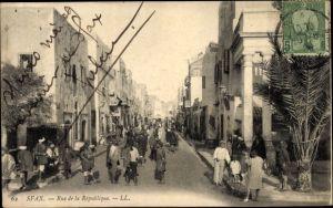 Ak Sfax Tunesien, Rue de la République