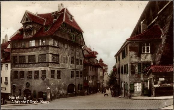 Albrecht Dürer Haus Nürnberg ak nürnberg in mittelfranken bayern, albrecht dürer haus