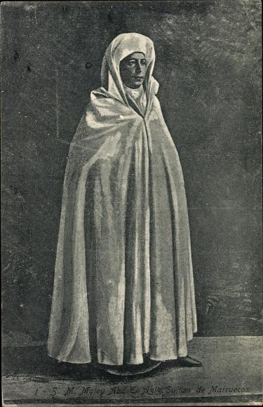 Künstler Ak Abd al Aziz, Sultan der Alawiden in Marokko