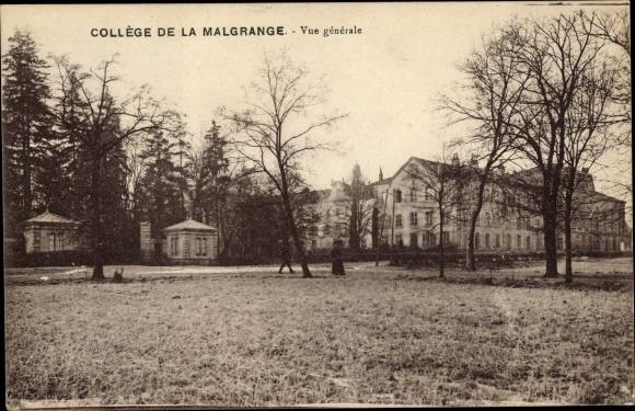 Ak Jarville la Malgrange Meurthe et Moselle, Collège de la Malgrange, Vue générale
