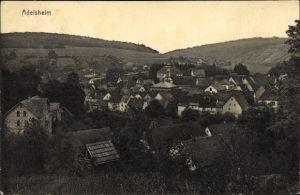 Ak Adelsheim im Neckar Odenwald Kreis, Panoramablick über Ort und Umgebung