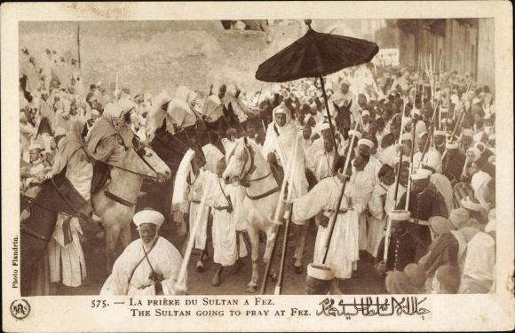 Ak Fès Fez Marokko, La Prière du Sultan