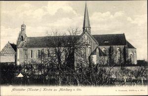 Ak Mühlberg an der Elbe Brandenburg, Altstädter Klosterkirche