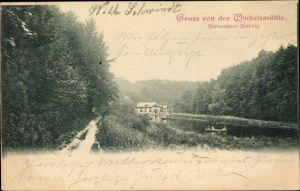 Ak Gruiten Haan in Nordrhein Westfalen, Winkelsmühle, Restaurateur Hertwig