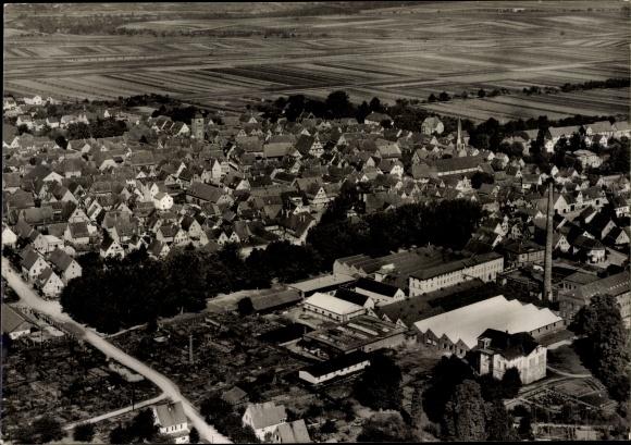 Ak Bönnigheim in Baden Württemberg, Totalansicht vom Ort