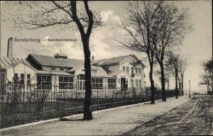 Ak Sønderborg Sonderburg Dänemark, Seemannshaus