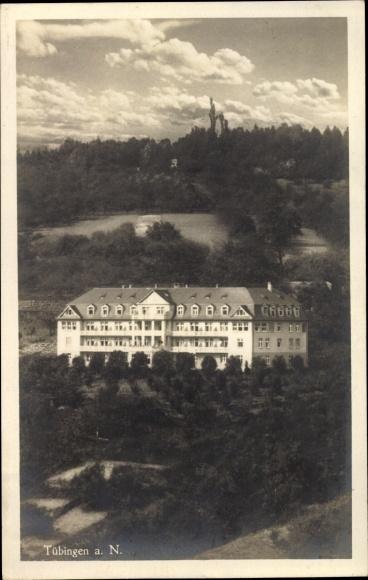 Ak Tübingen am Neckar Baden Württemberg, Tropengenesungsheim