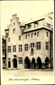 Foto Ak Bad Münstereifel in Nordrhein Westfalen, Rathaus