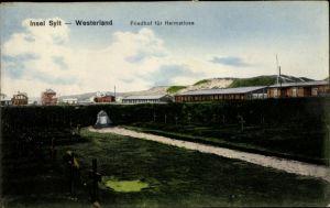 Ak Westerland auf Sylt, Friedhof für Heimatlose