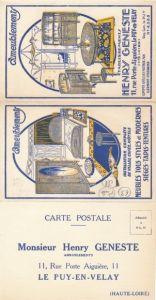 Klapp Ak Le Puy en Velay Haute Loire, Henry Geneste, Ameublements, Meubles