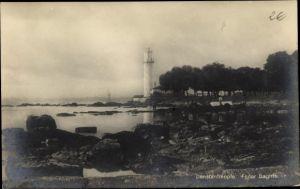 Ak Konstantinopel Istanbul Türkei, Fener Baghtsche, Leuchtturm