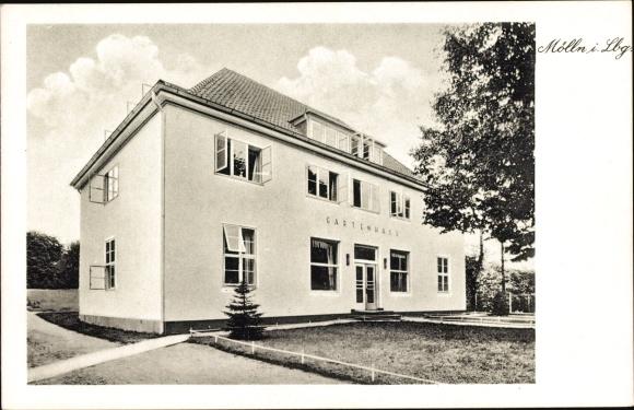 Ak Mölln im Herzogtum Lauenburg, Gartenhaus, Gesamtansicht
