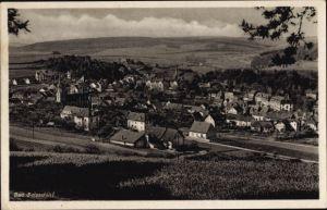 Ak Bad Salzschlirf in Hessen, Panorama vom Ort