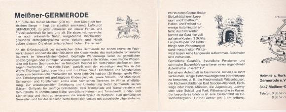 Klapp Ak Germerode Meissner Werra Meissner Kreis Hessen Kirche Wassermuhle Ortsblick Hirsche Nr 2027900 Oldthing Ansichtskarten Postleitzahl