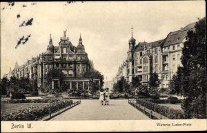 Ak Berlin Schöneberg, Viktoria Luise Platz, Kinder