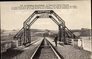 Ak Puy de Dôme, Viaduc des Fades, Le Viaduc des Fades