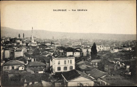 Ak Thessaloniki Griechenland, Vue Générale, Mosquée