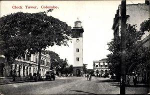 Ak Colombo Ceylon Sri Lanka, Clock Tower