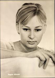 Ak Schauspielerin Regine Albrecht, Portrait