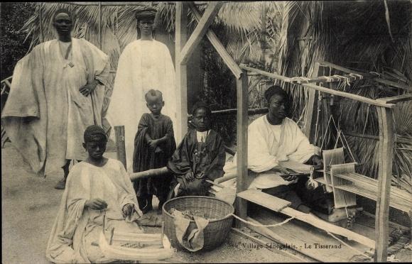 Ak Senegal, Village Sénégalais, Le Tisserand