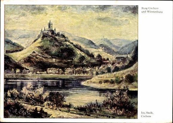 10 Ak Cochem an der Mosel, diverse Ansichten