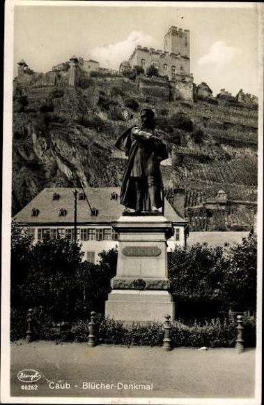10 Ak Kaub Rheinland Pfalz, diverse Ansichten