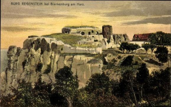 10 Ak Blankenburg am Harz, diverse Ansichten