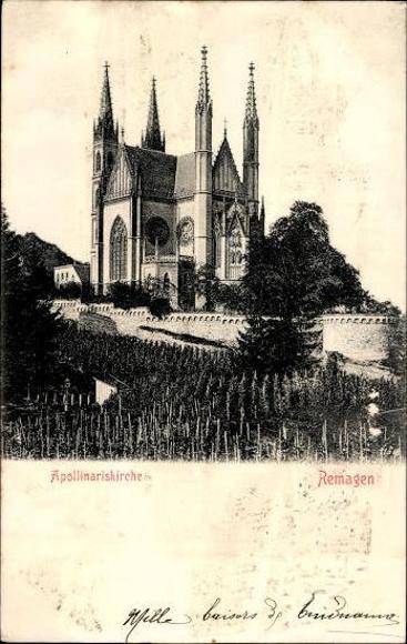 10 Ak Remagen im Kreis Ahrweiler, diverse Ansichten
