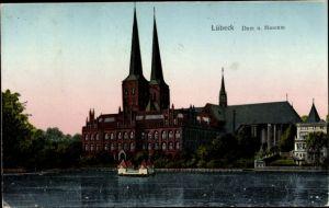 Luna Ak Lübeck in Schleswig Holstein, Dom und Museum