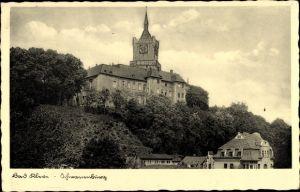 Ak Kleve am Niederrhein, Blick zur Schwanenburg